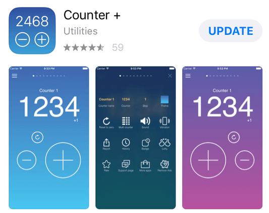 Counter+ App