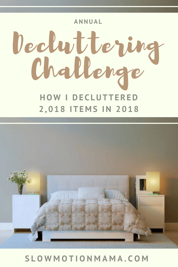Declutter your home with a minimalist challenge! Discover tips for how I organized an annual decluttering challenge and then join me on the journey! Find the motivation to rid your home of excess! #declutter #declutteringchallenge #minimalism #organizedhome #simplify