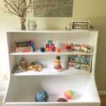 toy box plans with bookcase