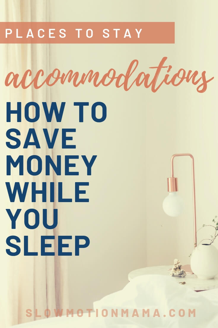 Whether you're looking for adventure and bucket list worthy experiences, or just want simple tips for saving money on a hotel, check out these tricks for scoring cheap travel accommodations on your next vacation.  Use these hacks to find your next place to stay while traveling on a budget. #travelonabudget #travel #savemoney