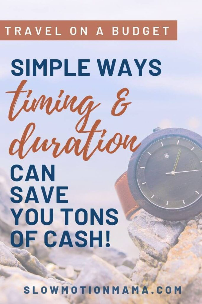 Become an expert vacation planner! Learn how travel duration can impact your budget and how travel timing can stretch your adventure dollars & help you save money. Check out this list of vacation travel budget tips and see how planning a fun, affordable vacation is within reach, no matter where the destination! #traveltips #travel #budgettravel