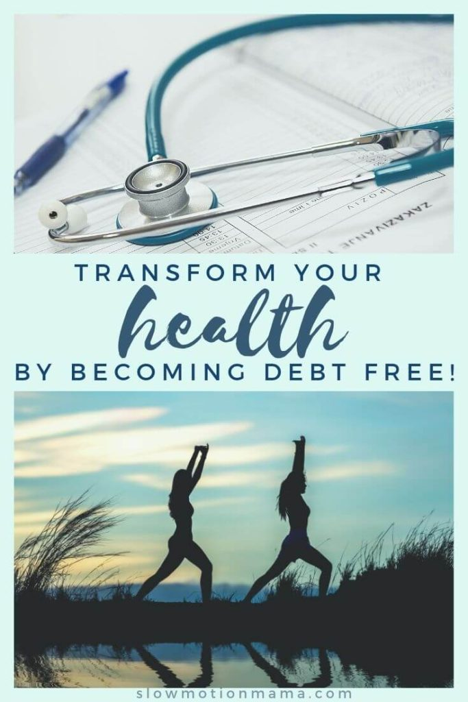"If you've ever wondered, ""Why be debt free?"", this article is for you. There are so many benefits to a debt-free lifestyle- especially when it comes to your health! Check out this list of ways becoming debt free can transform your physical health and your wellbeing. Get some inspiration, create a vision board, and set your goals to become debt free. Then, enjoy the many benefits of living debt free! #debtfree #getoutofdebt #debtfreebenefits"