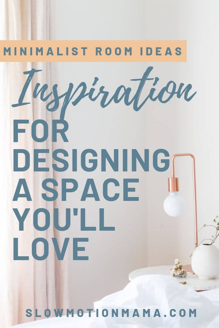 From simple bedrooms to inspirational living rooms, we're sharing 20 tips that will help you design a minimalist space you will love. Learn the tricks to developing pleasing aesthetics in any room and get tips for minimalist decor & color ideas. See how incorporating simple furniture, natural wood elements, and smart organization can help you create the minimized space of your dreams. #minimalism #minimalistdecor #simplify