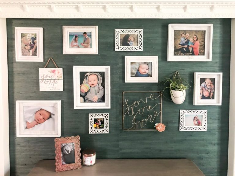 Create a Photo Gallery Wall- 5 Steps to a Gorgeous Showcase