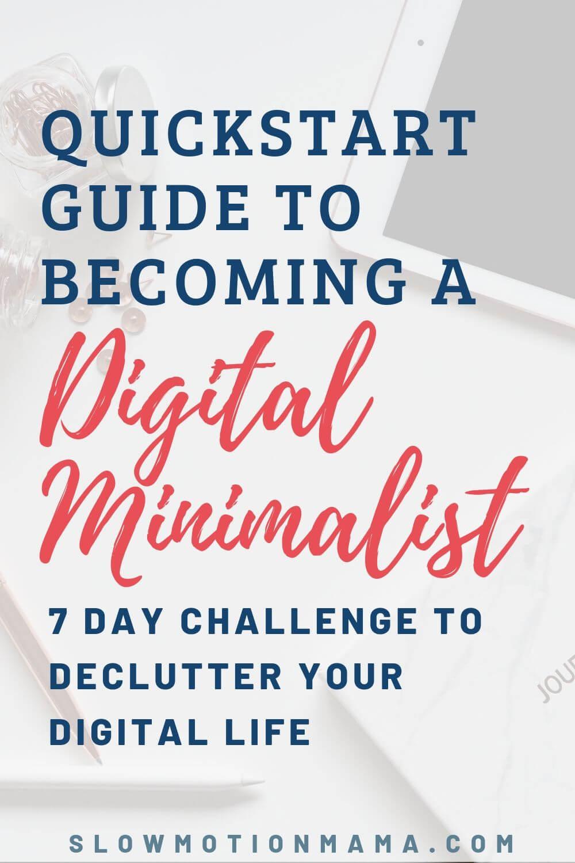 digital decluttering challenge