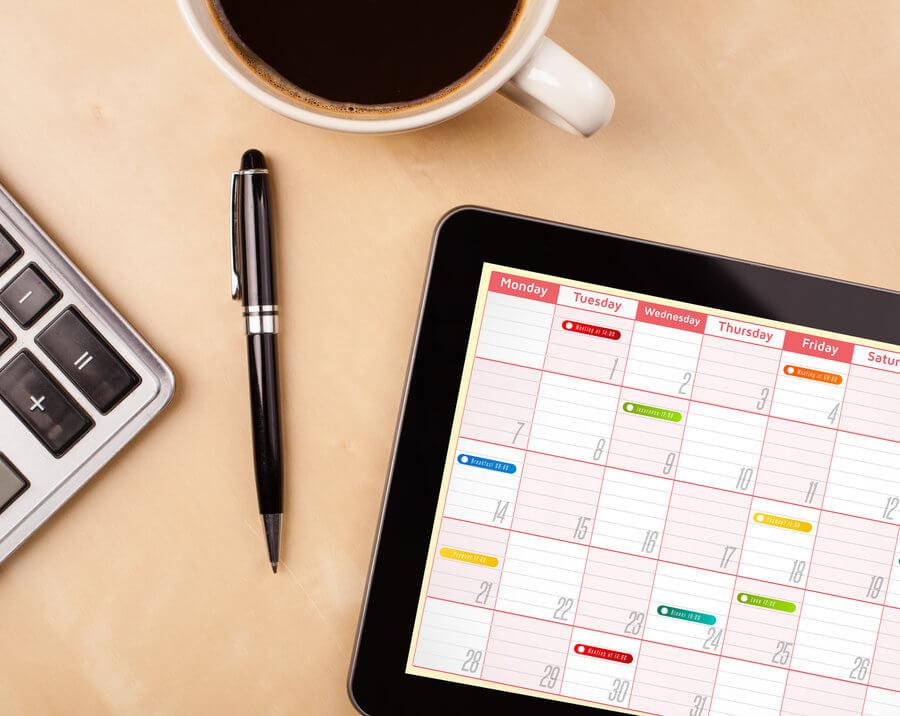 how to achieve big goals printable schedule