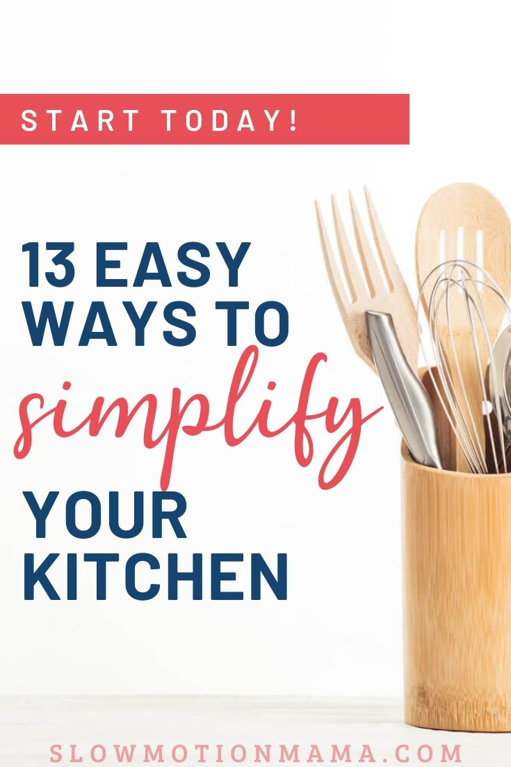 simple kitchen tools