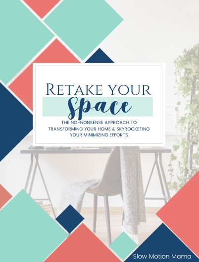 Retake Your Space Decluttering Cover