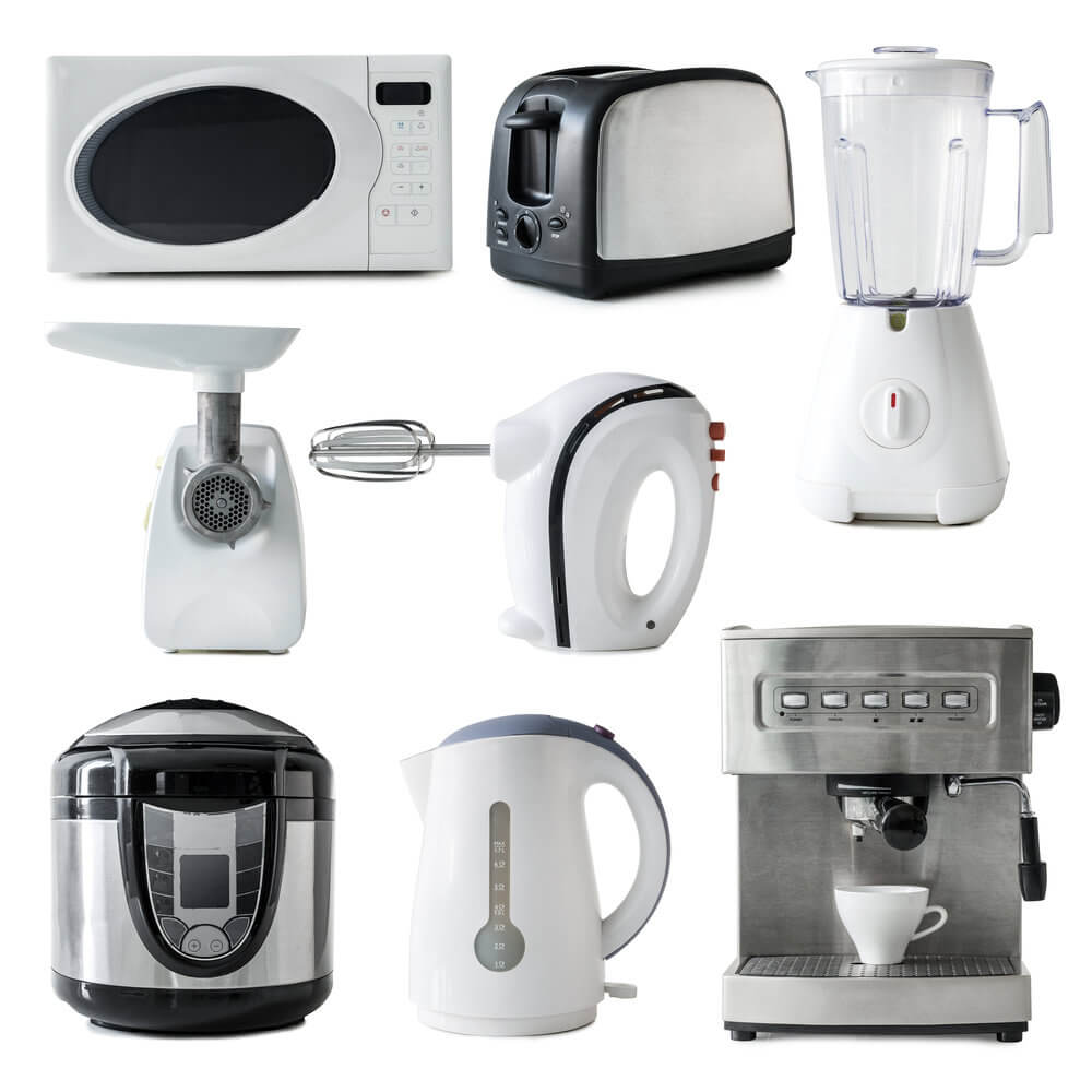 simplify small kitchen appliances